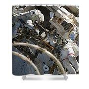 Astronauts Participate Shower Curtain