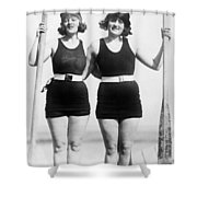 Atlantic City: Women Shower Curtain