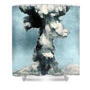 Atomic Bombing Of Nagasaki Shower Curtain