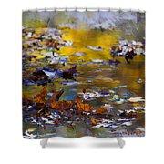 Autumn Voyage Shower Curtain