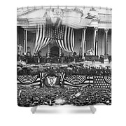 B. Harrison Inauguration Shower Curtain