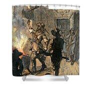 Bacons Rebellion, 1676 Shower Curtain