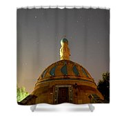 Baghdad Mosque Shower Curtain by Rick Frost