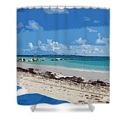 Bahamas Cruise To Nassau And Coco Cay Shower Curtain