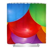 Balloons Background Shower Curtain