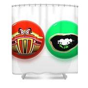 Balls Shower Curtain