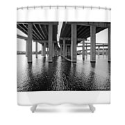 Baltimore By-pass Shower Curtain
