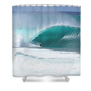 Banzai Pipeline Pro Shower Curtain
