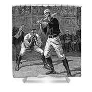 Baseball, 1888 Shower Curtain
