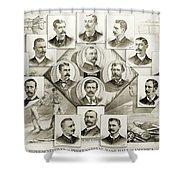 Baseball, 1894 Shower Curtain