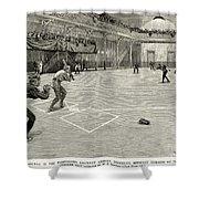 Baseball: Brooklyn, 1890 Shower Curtain
