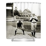 Baseball: Princeton, 1901 Shower Curtain