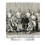 Baseball: Providence, 1882 Shower Curtain