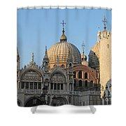Basilica San Marco Shower Curtain
