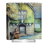 Bass Fiddle At Ford Gala I Shower Curtain
