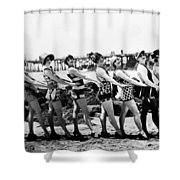 Bathing Beauties, 1916 Shower Curtain