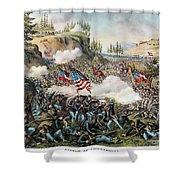 Battle Of Chickamauga 1863 Shower Curtain