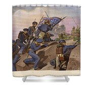 Battle Of Churubusco, 1847 Shower Curtain