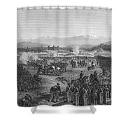 Battle Of Molino Del Rey Shower Curtain