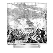 Battle Of Quarisma, 1857 Shower Curtain