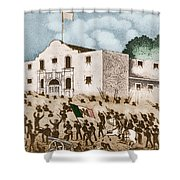 Battle Of The Alamo Shower Curtain