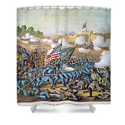 Battle Of Williamsburg Shower Curtain