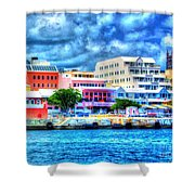 Beautiful Bermuda Shower Curtain
