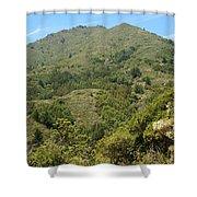 Beautiful Mount Tamalpais Shower Curtain