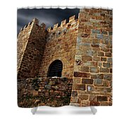 Belver Castle Shower Curtain by Carlos Caetano
