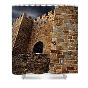 Belver Castle Shower Curtain