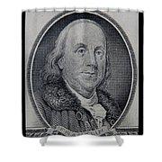 Ben Franklin Shower Curtain