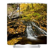 Beulach Ban Falls, Cape Breton Shower Curtain