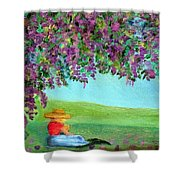 Beyond The Arbor Shower Curtain