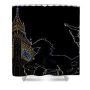 Big Ben And Boudica Shower Curtain