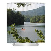 Big Canoe Shower Curtain