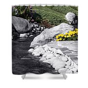 Bishop Creekside Shower Curtain