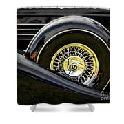 Black Classic Shower Curtain