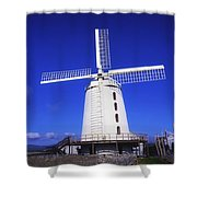 Blennerville Windmill, Tralee, Co Shower Curtain