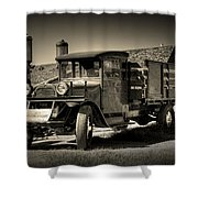 Bodie Gas Stop Shower Curtain