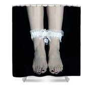 Bonded Legs Shower Curtain