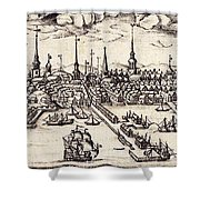 Boston, 1743 Shower Curtain