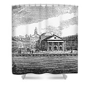 Boston: Quincy Market Shower Curtain