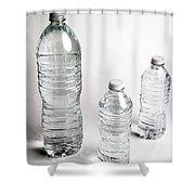 Bottled Water Shower Curtain