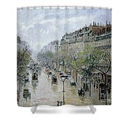 Boulevard Montmartre Shower Curtain