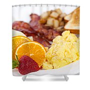 Breakfast  Shower Curtain by Elena Elisseeva