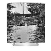 Bricktown Canal Shower Curtain