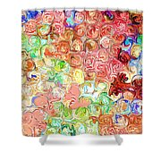 Bright Reflections Shower Curtain