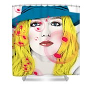 Britney Spears Shower Curtain