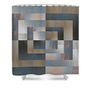Brushed 27 Shower Curtain