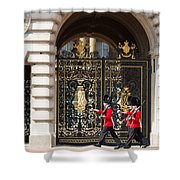 Buckingham Palace Guards Shower Curtain